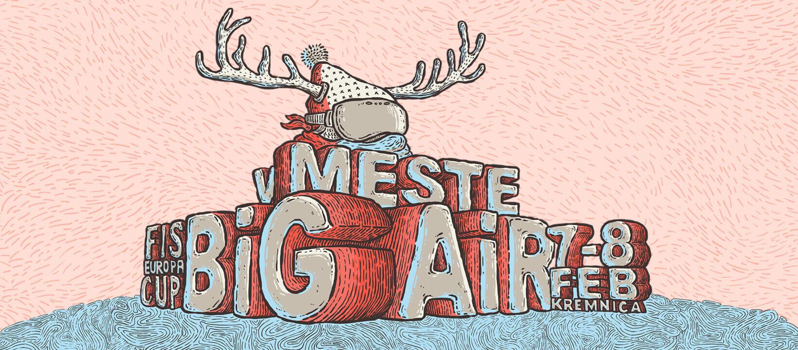 Big Air v meste